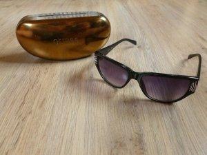Sonnenbrille Guess schwarz Zebra Muster