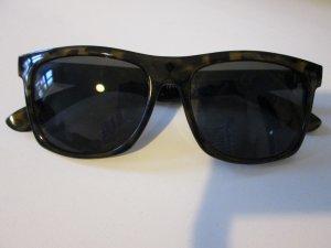 Sonnenbrille H&M schwarz/Senffarben gemustert
