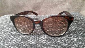 Sonnenbrille halbrunder Rahmen