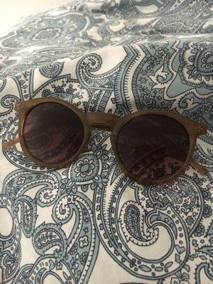 Sonnenbrille Hellbraun