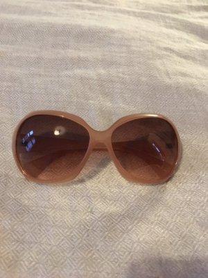 Sonnenbrille, hellbraun/dunkler Nude-Farbton