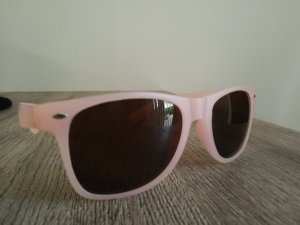sonnenbrille hellrosa