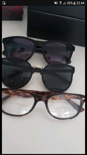 sonnenbrille hornbrille paket