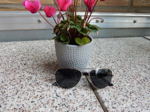 Sonnenbrille im Aviator-Stil von West