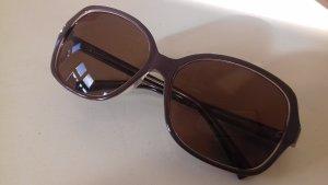 Sonnenbrille in Taupe von Calvin Klein