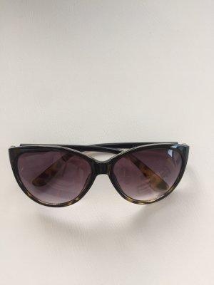 Sonnenbrille Kiomi schwarz/Havannabraun