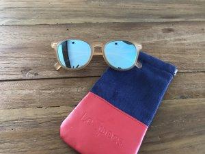 Sonnenbrille Le Specs, Modell bandwagon, blau verspiegelt