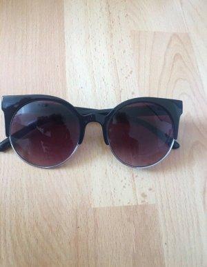 Retro Glasses brown violet