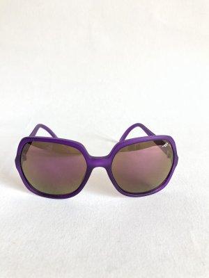 Sonnenbrille, lila polarisiert