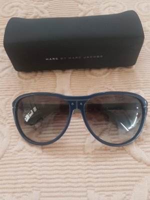 Marc by Marc Jacobs Occhiale grigio-blu Materiale sintetico