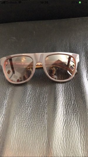 Marc by Marc Jacobs Bril zwart bruin-donkerrood
