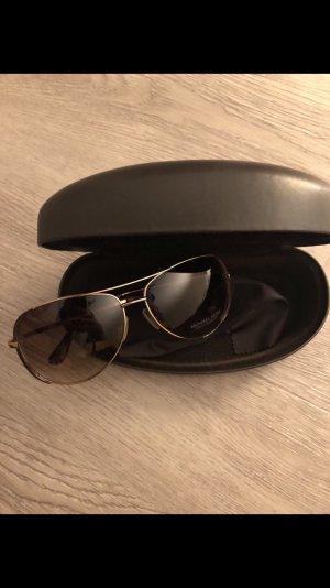 Michael Kors Zonnebril goud-bruin