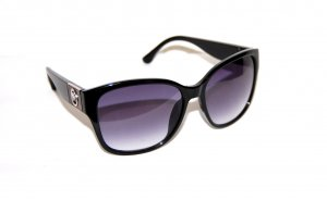 Michael Kors Angular Shaped Sunglasses black synthetic material
