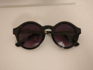 Sonnenbrille mit runden violett getönten Gläsern Vans