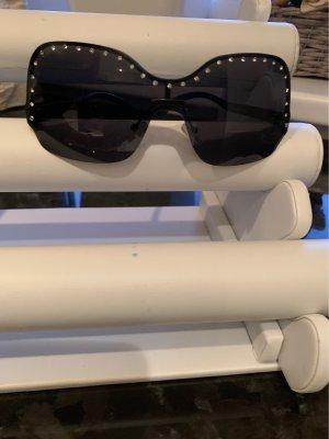 Sonnenbrille mit Strass oben besetzt neu ohne Edikett