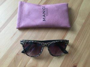 Sonnenbrille mit Tigermuster von Mango