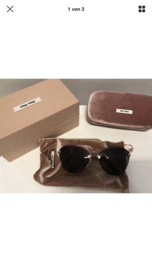 Sonnenbrille miu miu mit Tuch mit Box