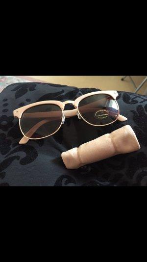 Sonnenbrille - NEU - beige