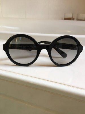 Kate Spade Ronde zonnebril zwart-zilver