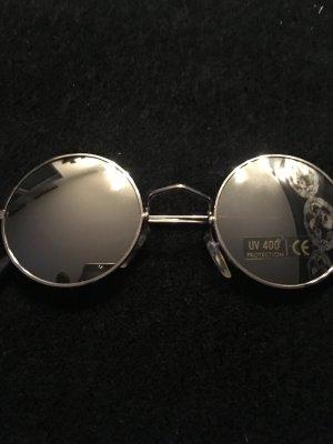 Sonnenbrille Neu Silber