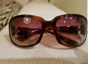 Oliver Peoples Gafas de sol ovaladas marrón oscuro-coñac