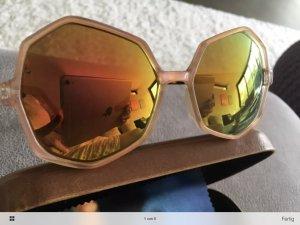 Sonnenbrille orange verspiegelt, neu