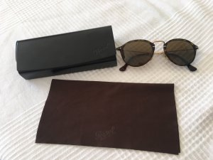 Persol Round Sunglasses light brown-dark brown glas