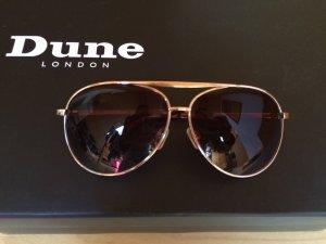 Sonnenbrille Pilotenbrille Asos Gold Braun