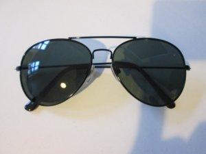 Sonnenbrille Pilotenbrille schwarz