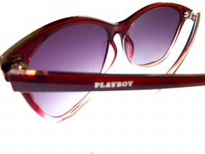 Playboy Oval Sunglasses multicolored synthetic material