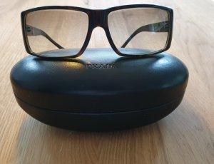 Prada Angular Shaped Sunglasses brown