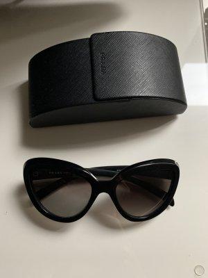Sonnenbrille Prada Schwarz Cateye