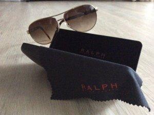 Ralph Lauren Pilotenbril goud-bruin