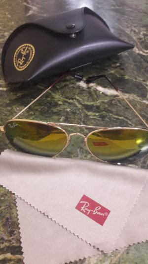 Ray Ban Aviator Glasses multicolored metal