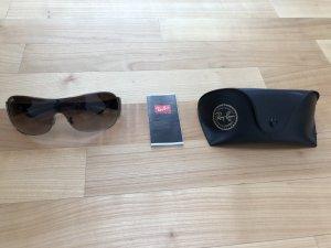Ray Ban Gafas negro-gris oscuro