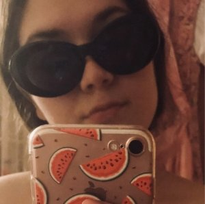 Sonnenbrille Retro rund