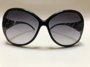 Roberto Cavalli Oval Sunglasses black