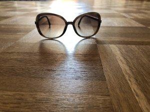 Sonnenbrille, Rodenstock, Gold, braun, bronze
