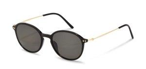 Rodenstock Gafas de sol redondas negro acetato