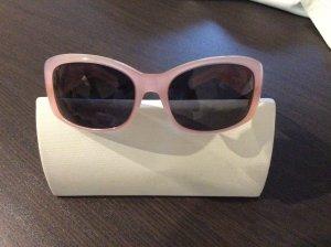 Blumarine Ovale zonnebril stoffig roze