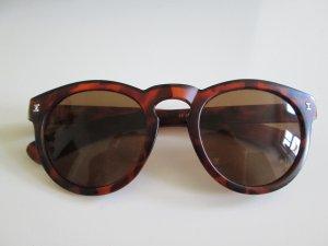 Sonnenbrille rund in Schildpattoptik