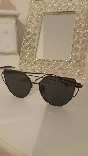 100% Fashion Zonnebril zwart