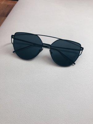 Sonnenbrille schwarz Blogger Sunglasses