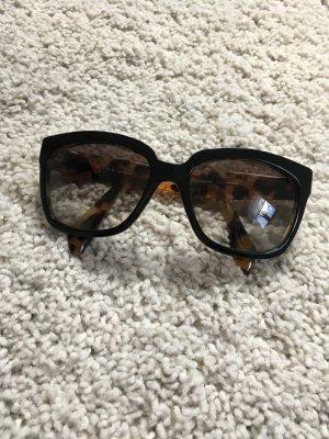 Sonnenbrille schwarz braun Blogger prada Fashion Accessoires