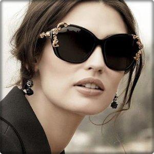 SONNENBRILLE Schwarz Gold Elegante Brille Fashion TOP Ausgezeichnet Must Have