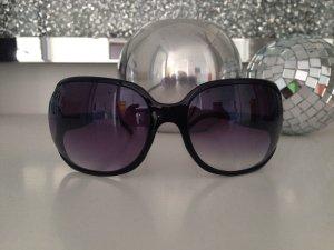 Sonnenbrille schwarz Kunststoff