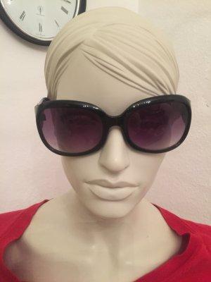 Sonnenbrille schwarz Mango