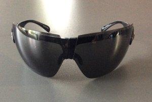 Christian Dior Lunettes papillon noir-gris foncé matériel synthétique