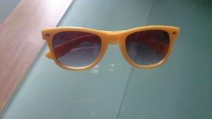 Sonnenbrille Sunglasses Noname Gelb Wayfarer Form Stil