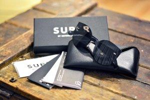 Sonnenbrille Super by Retrosuperfuture Tuttolente Lucia Black N26